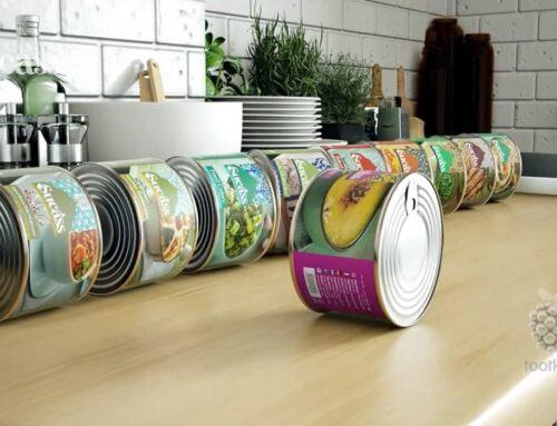 تبلیغ محصولات غذایی